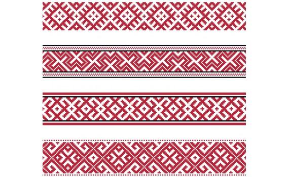 Haft słowiański - haft krzyżykowy